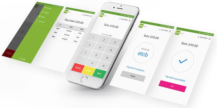 Интерфейс платформы Paytailor
